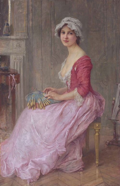 Lenoir Charles Amable~  The Seamstress