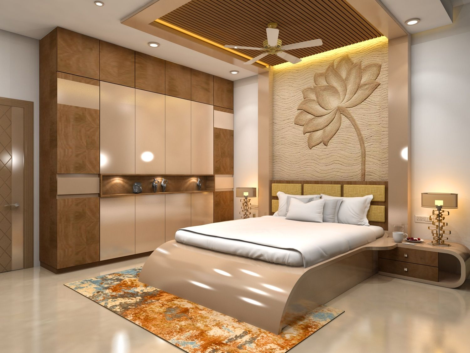 bedroom interior  Modern bedroom interior, Bedroom furniture