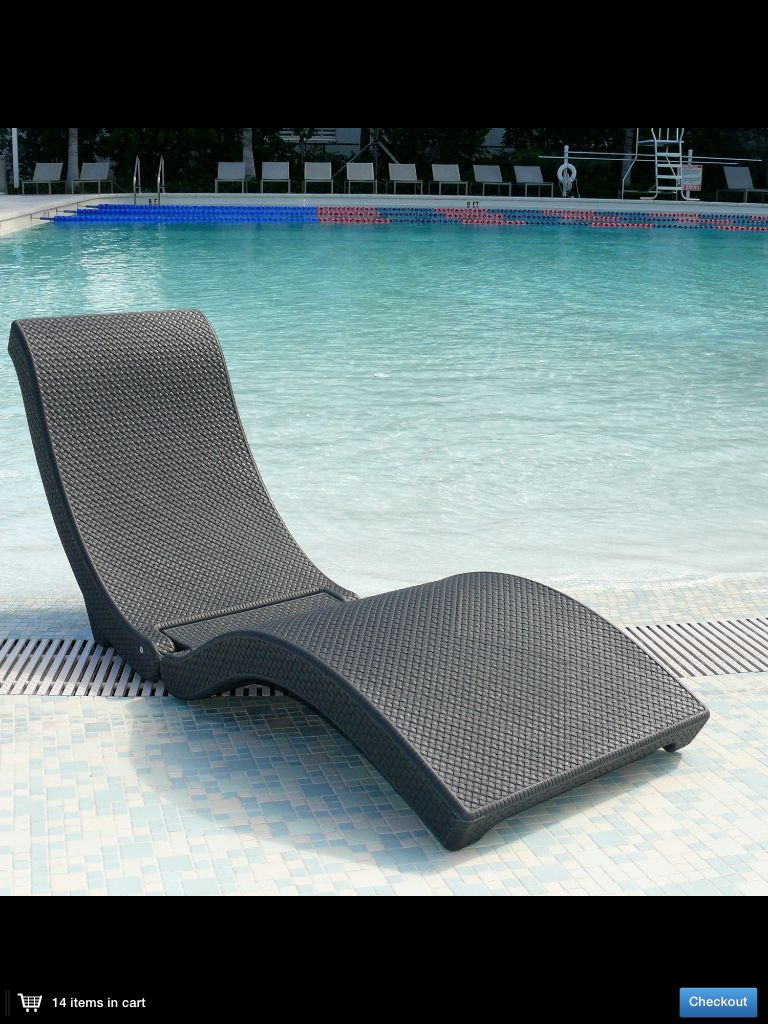 Pool Deck Chairs Floating Chaise Lounge My Style In 2019 Pool Lounge Chairs