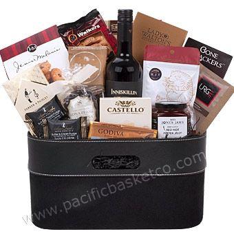 Metropolitan wine gift basket delivered to Vancouver, BC
