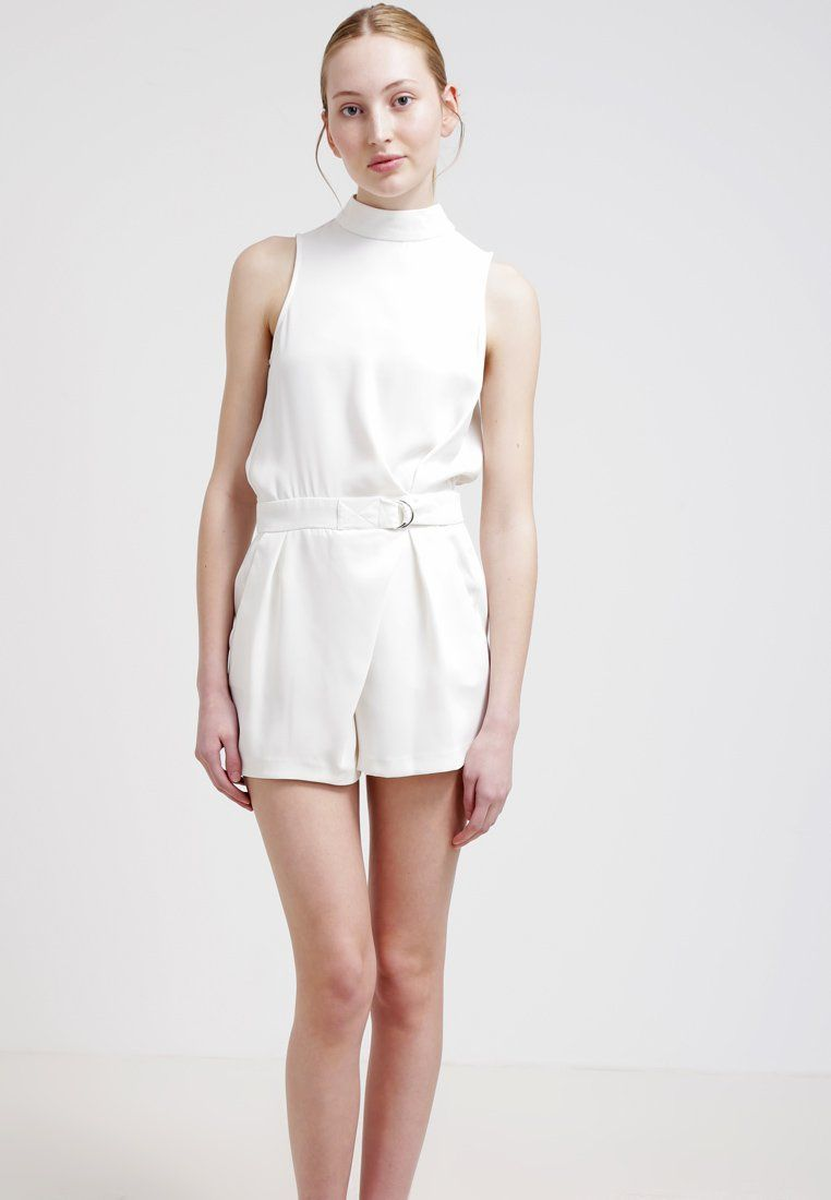 Topshop RING - Jumpsuit - white - Zalando.nl