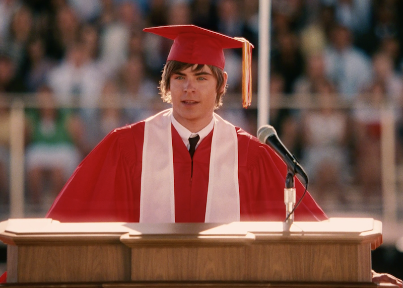 zac efron graduation speech snl