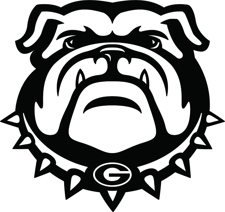 Georgia Bulldogs Bulldog Bulldog Georgia Bulldogs Vinyl