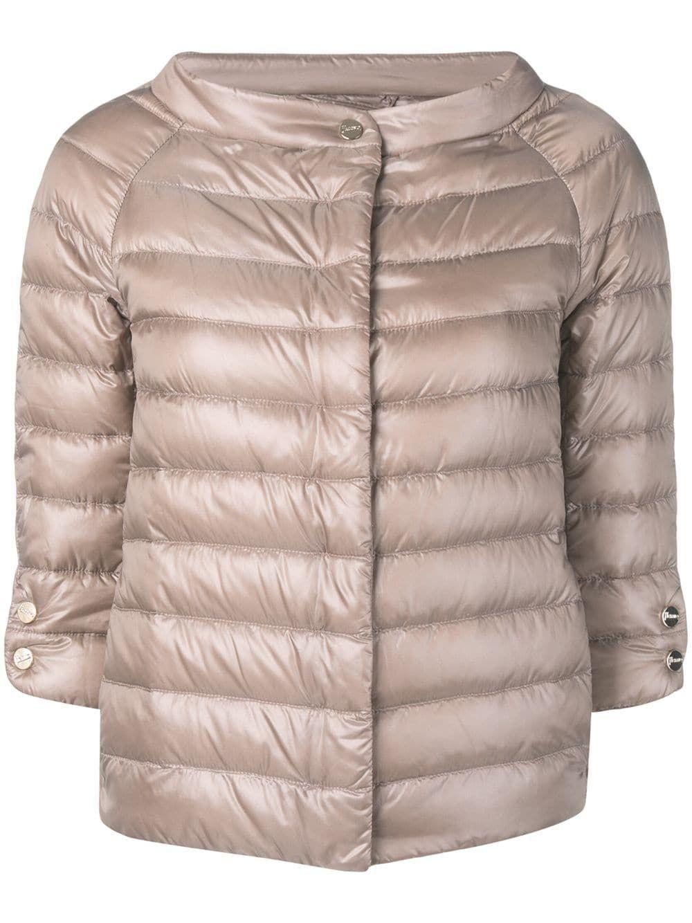 Herno 34 Sleeve Padded Jacket | Padded jacket, Jackets, Herno