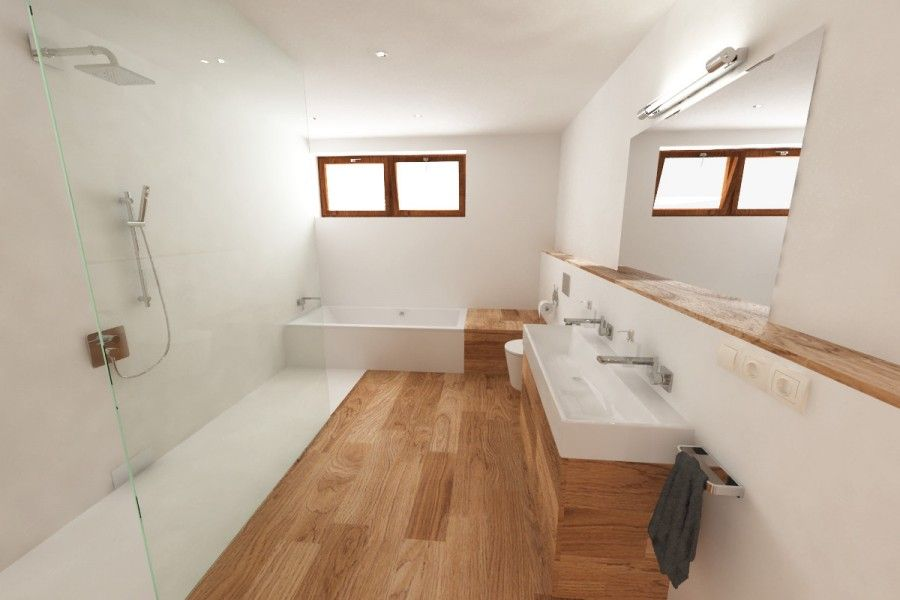 Koupelna koncept / Bathroom sketch