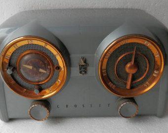 1951 52 D25 Be Am Fm Radio レトロ