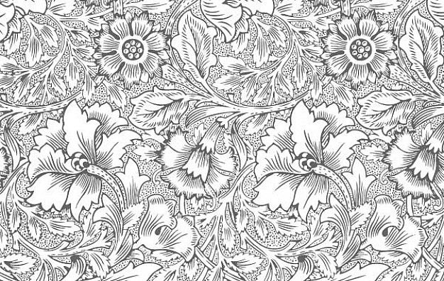 Download Ornate Flower Pattern For Free