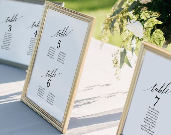 Wedding Seating Chart, Seating Chart Template, Wedding Seating - seating chart templates