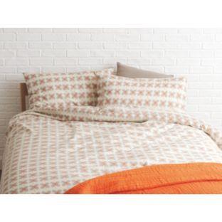 Habitat Sakura Orange Fl Double Duvet Set At Homebase Be Inspired And Make Your House A Home