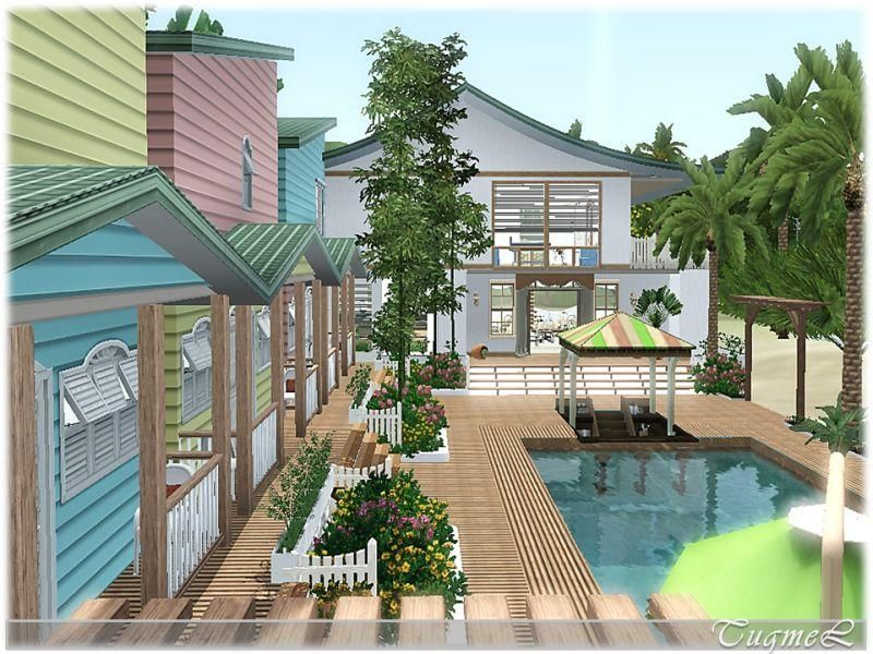 Sims 3 Island Paradise House Ideas Google Search