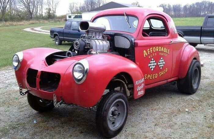 Affordable Speed Shop Willys Willys Gassers Pinterest Coupe