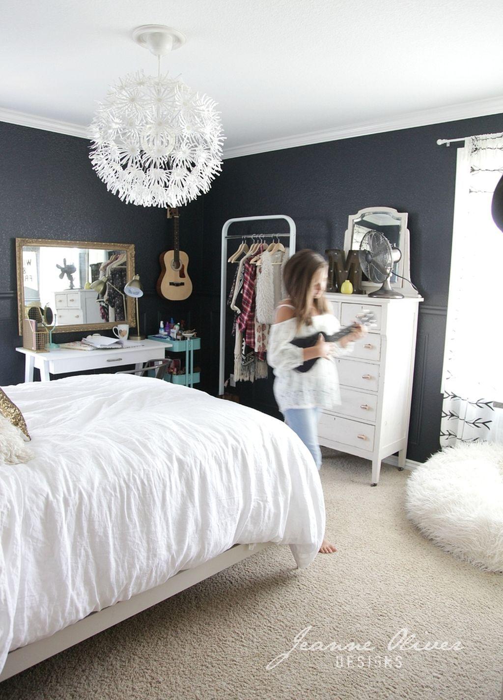 40 Stylish Bedroom Decoration Ideas with White Furniture | White ...