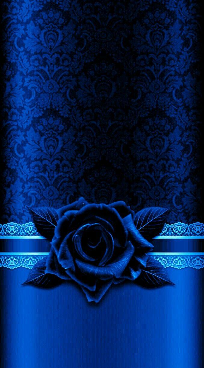 Wallpaperby Artist Unknown Blu Azzurro Nel 2019 Rosa Blu