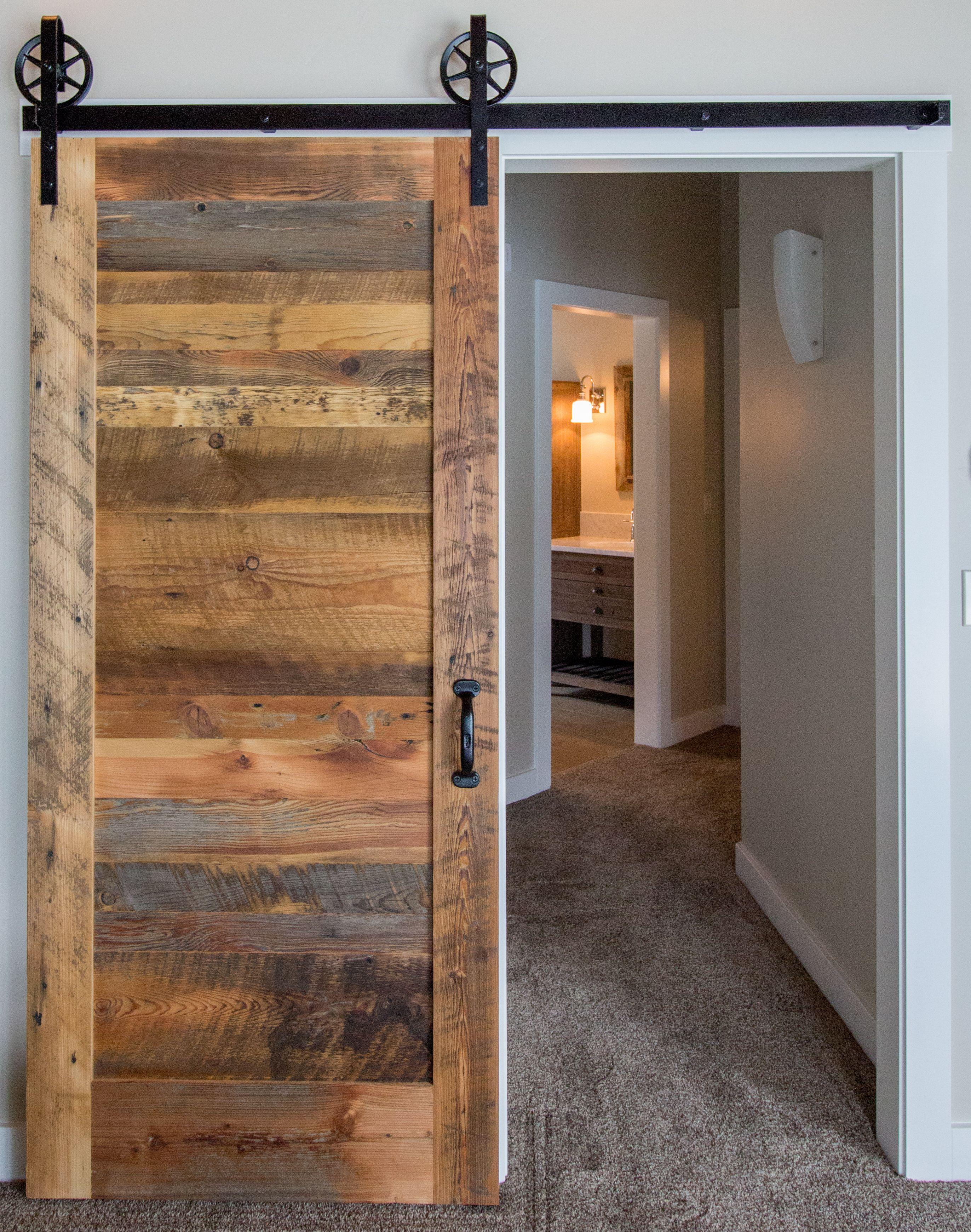 North Idaho Living, Details Matter, Barn Doors, Black