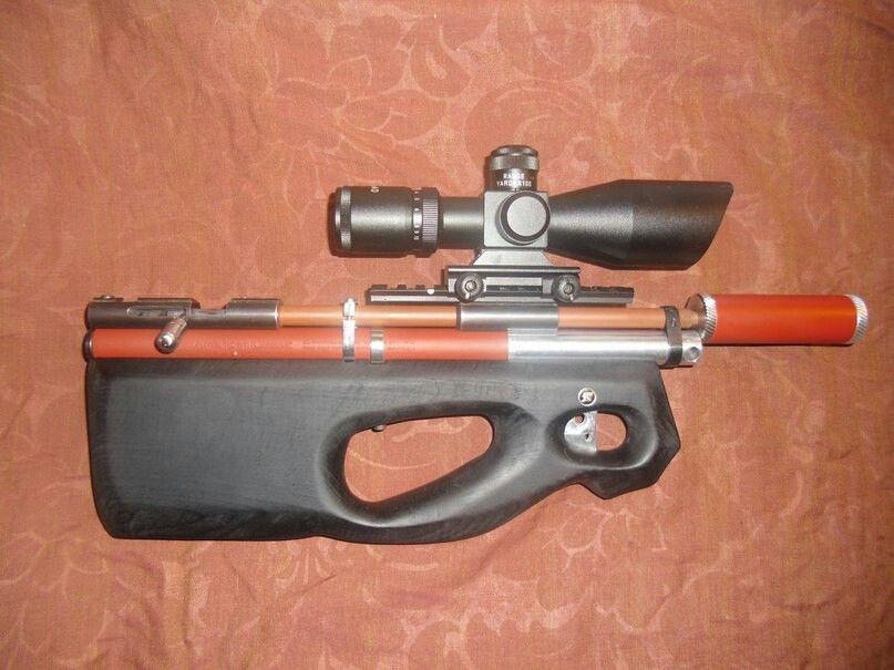 Handmade PCP rifle. Air RifleNerfPistolsRiflesBbGuns