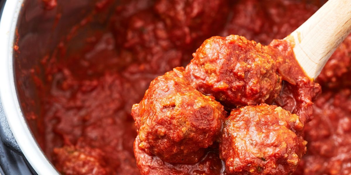 Instant Pot Meatballs Are The Easiest Way To Feed A Hungry