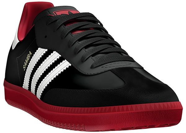 recuperar circulación Estar satisfecho  adidas samba black red, OFF 78%,Buy!