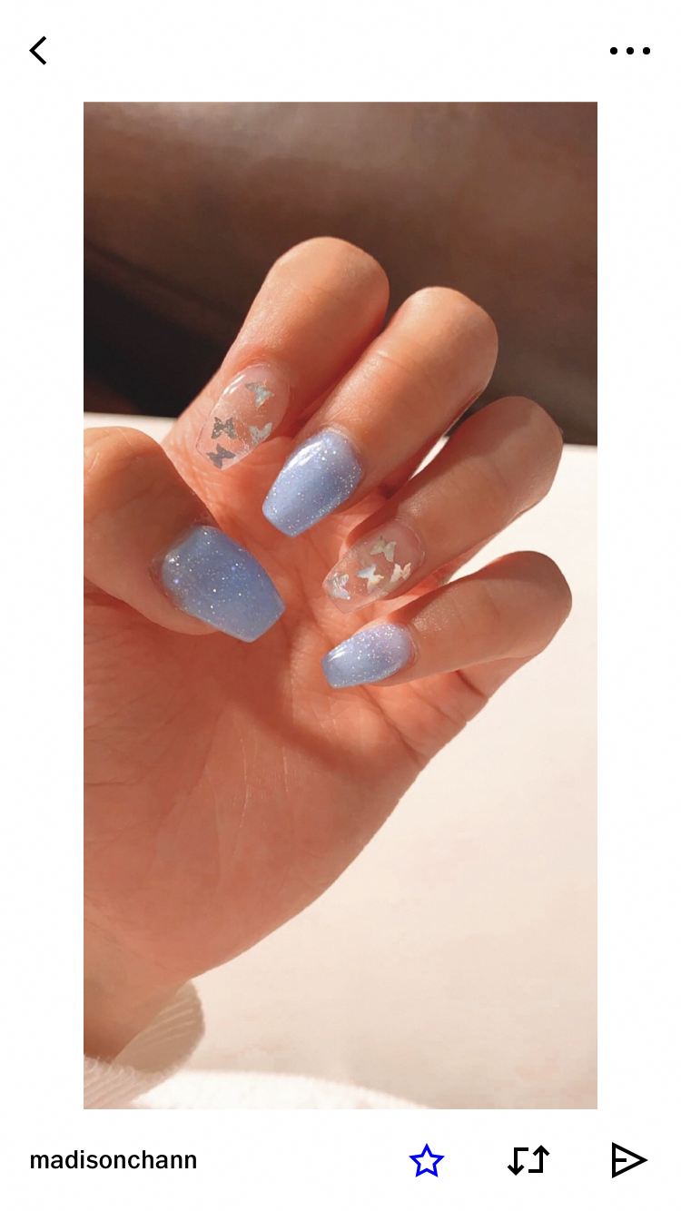 Untitled Ombreacrylicnails In 2020 Acrylic Nails Coffin Short Dream Nails Short Acrylic Nails Designs