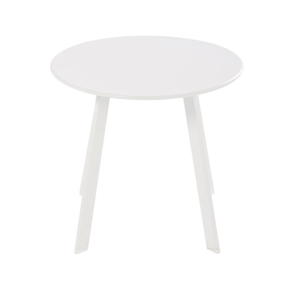 Table basse Darwin - blanc - 70 x 70 cm - EMU