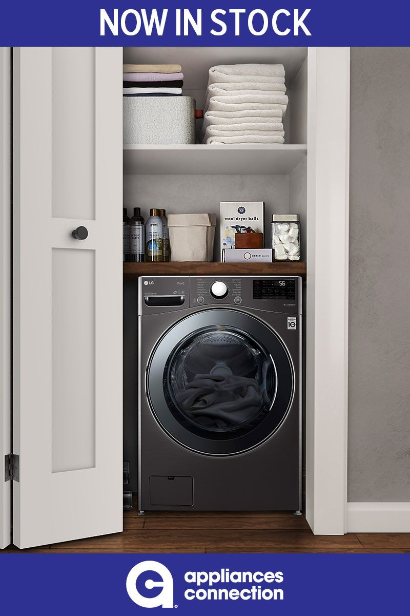 Lg Wm3998hba 1 999 00 In 2020 Smart Washer And Dryer Washer Dryer Combo Laundry Decor