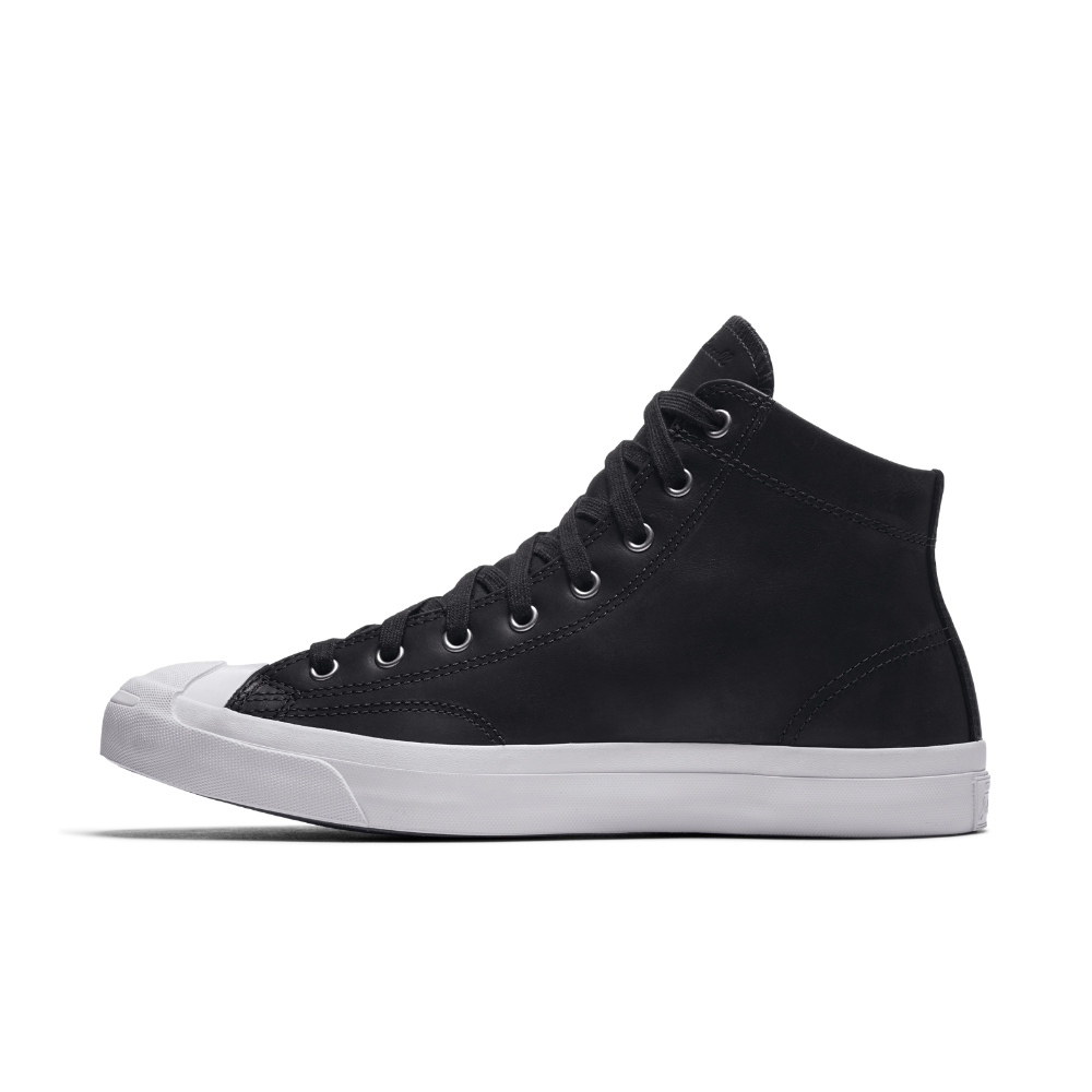 7912aba7191348 Converse Jack Purcell Mid Waterproof Boot Leather High Top Men s Shoe Size  11.5 (Black)