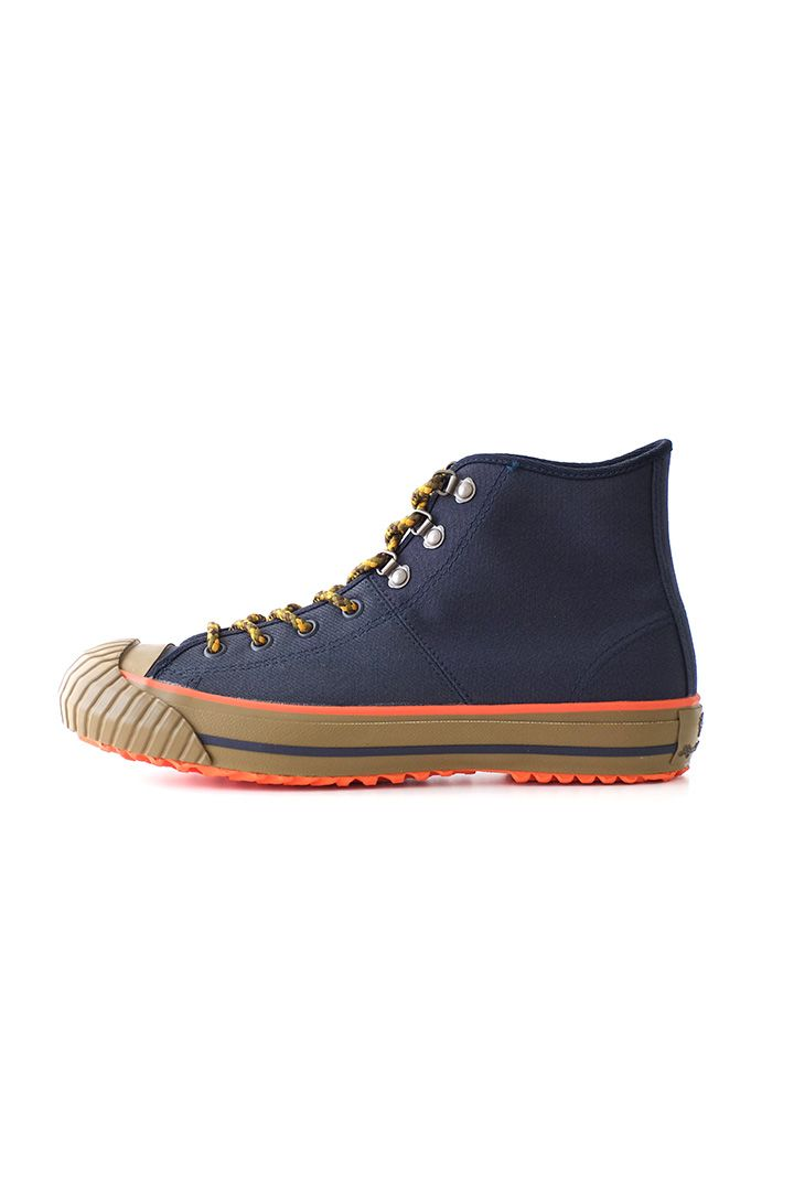 Nigel Cabourn for Women's- MILITARY SHOES HIGH TOP (HALFTEX) - NAVY