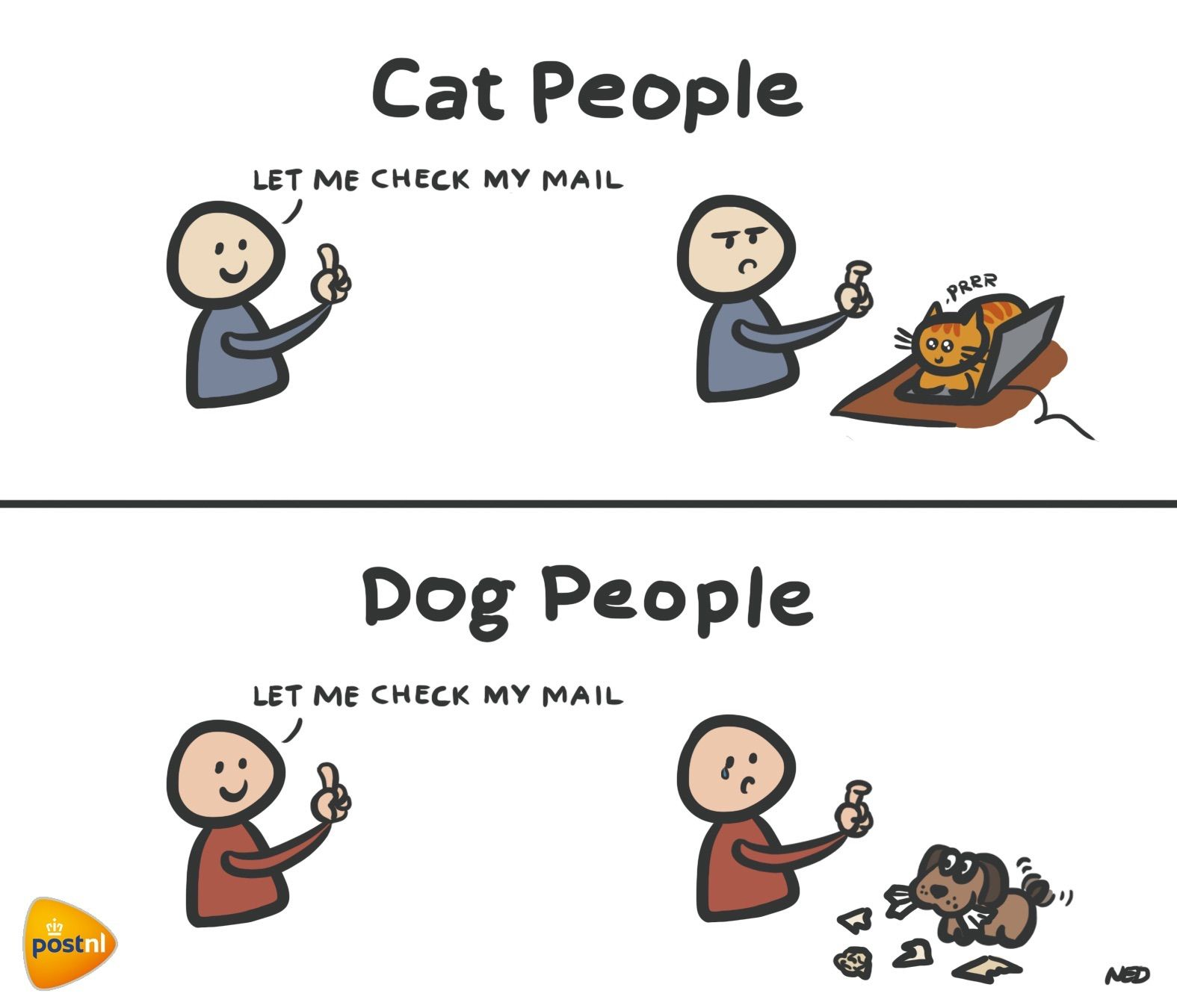 Cat people vs dog people. Do you recognize these moments