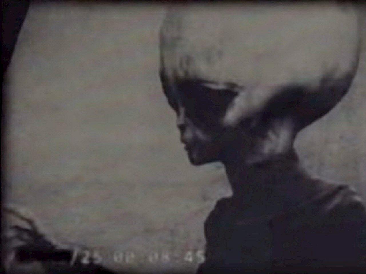 Leaked footage of Alien A K A  Skinny Bob from Zeta Reticuli star