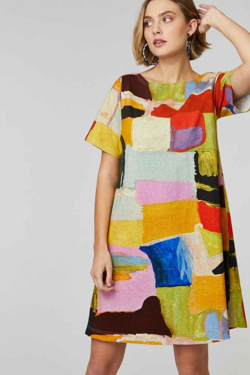 Gorman Online :: Billabongs Swing Dress - Mangkaja x ...