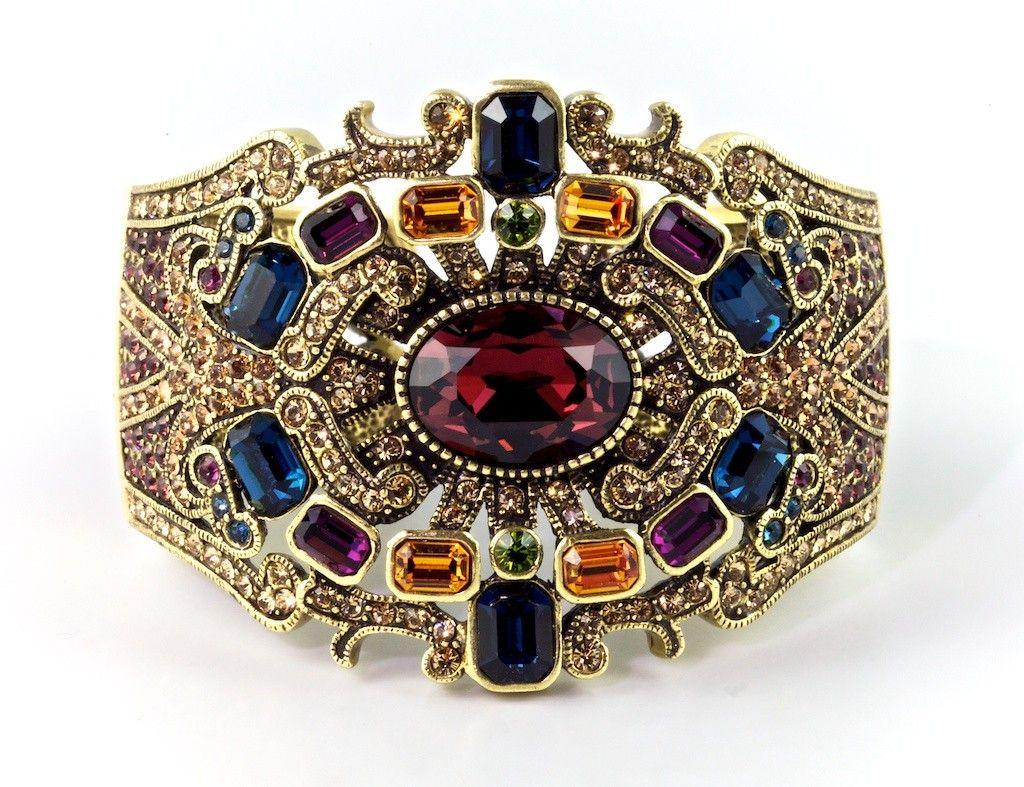 "Heidi Daus ""Enticing Elegance"" Bangle Bracelet..........want"