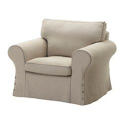ektorp fauteuil risane naturel ikea my strak en landelijke stijl pinterest. Black Bedroom Furniture Sets. Home Design Ideas