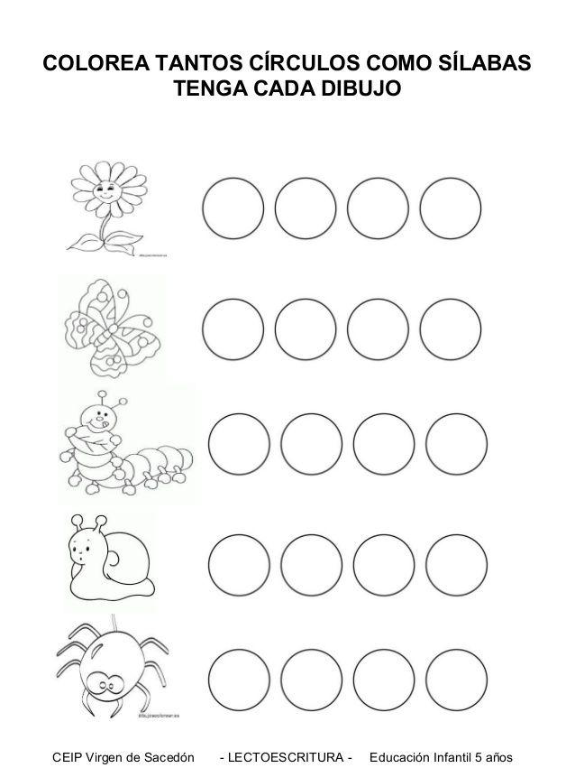 Hojas Graficas Silabas Circulos Buscar Con Google Good Cover Letter Examples Preschool Alphabet Book Writing Images