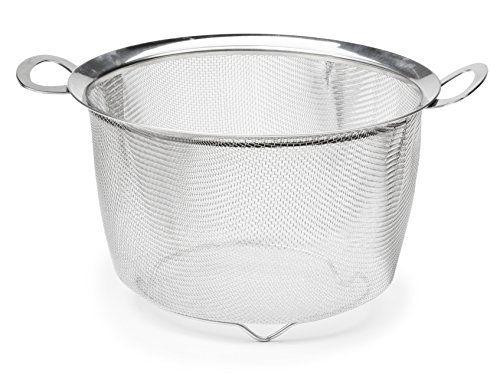 Rsvp Endurance 9 Inch Wide Rim Mesh Basket Rsvp Stainless Steel Mesh Food Strainer Pasta Strainer
