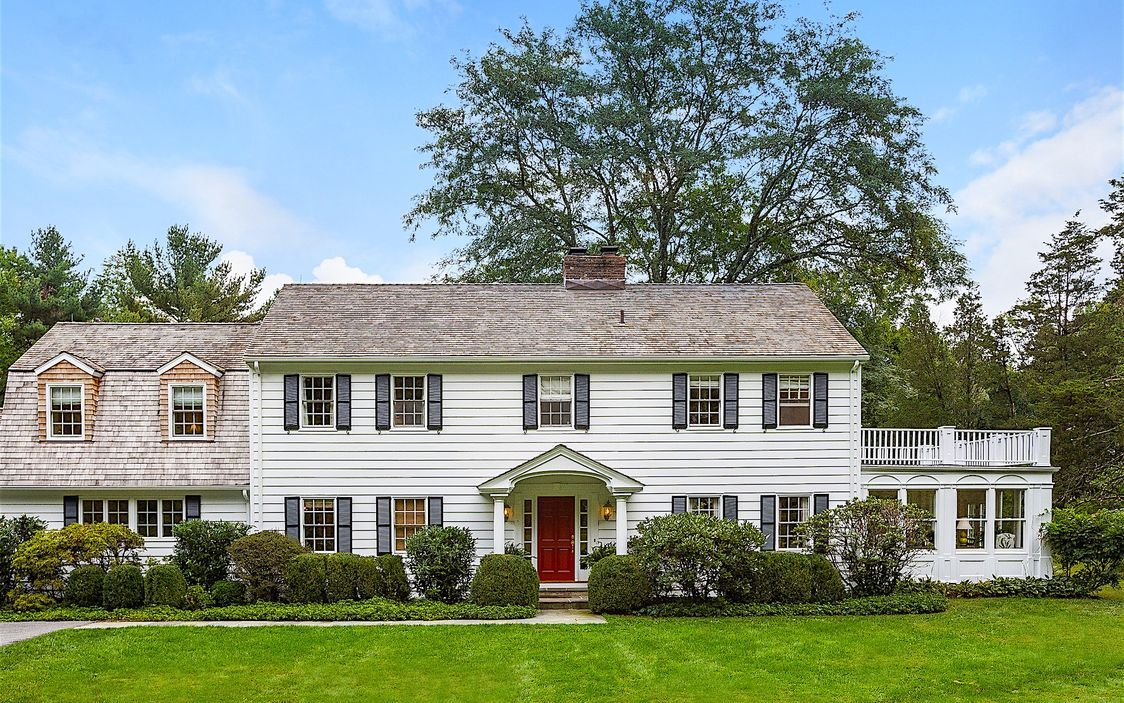 An inviting colonial in New Canaan, NY which combines traditional New England charms with a layout perfect for modern living.
