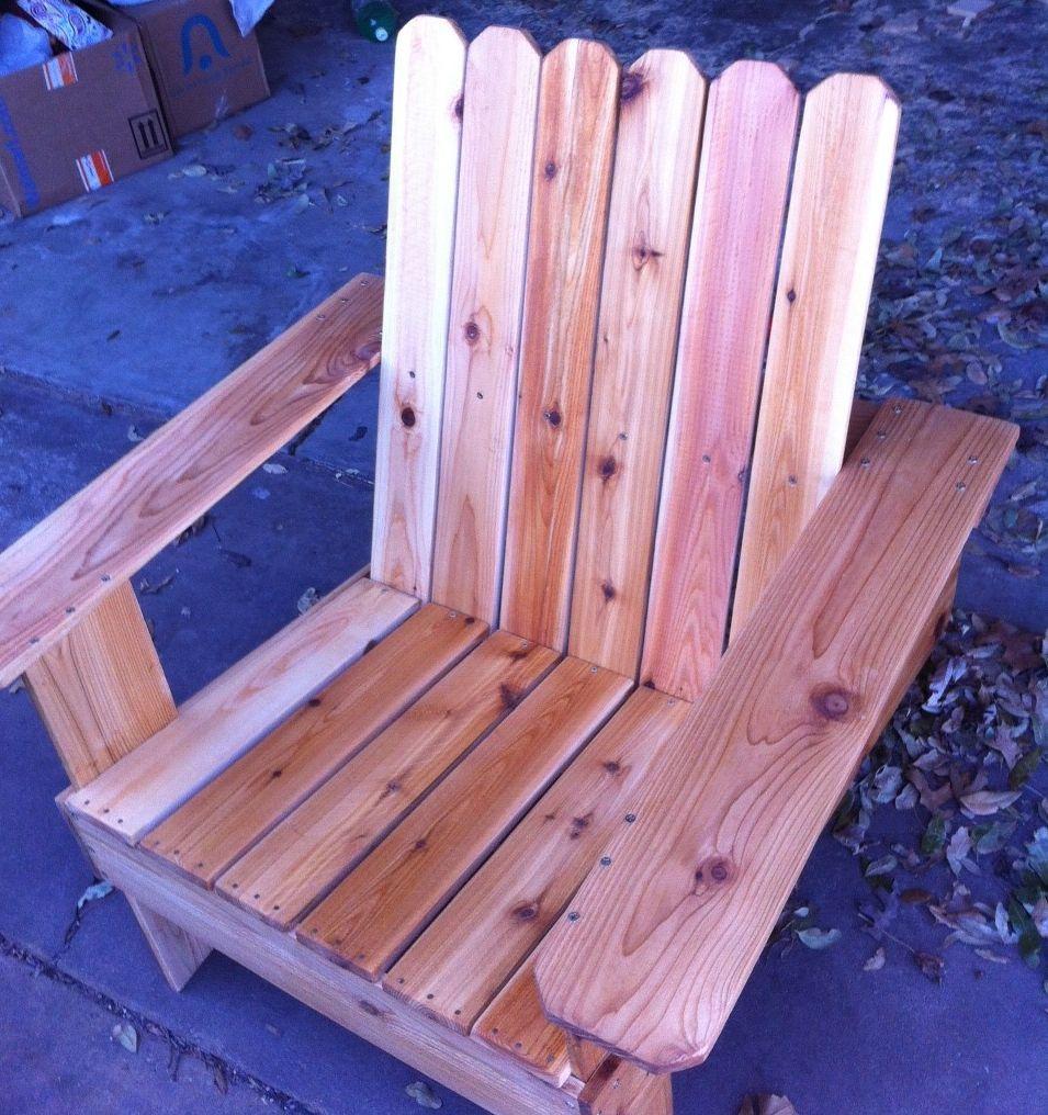 diy adirondack chair cost