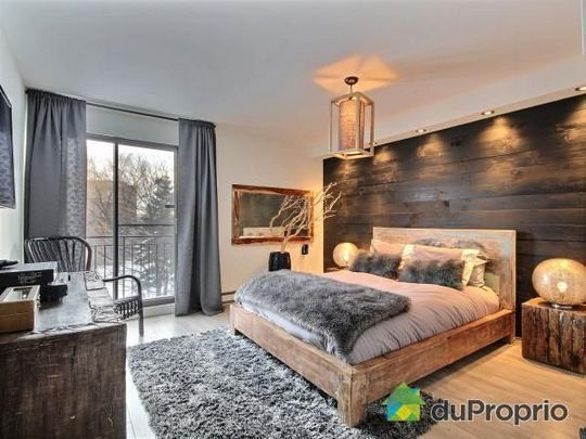 40+ Unique Modern Rustic Bedroom For Your Home | Chambre ...