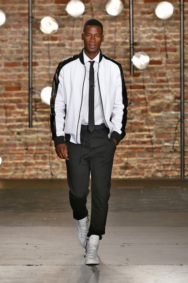 Men's fashion / Kenneth Cole Collection Spring-Summer 2014 / David Agbodji