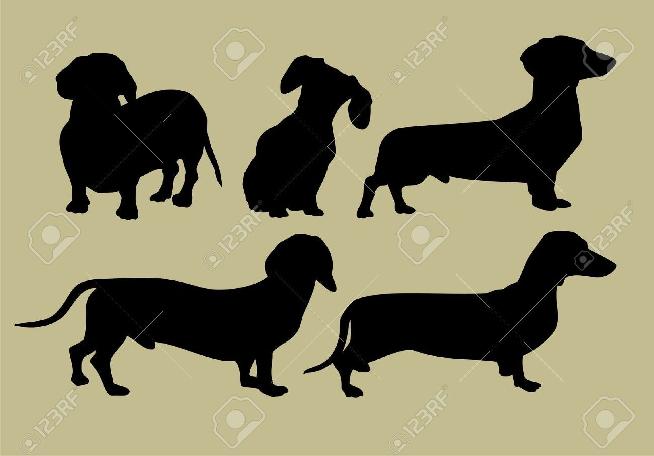 Images For > Wiener Dog Silhouette | The Mighty Weiner Race ...