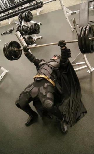 Batman Lifts Imgur Batman Gym Memes Workout Humor