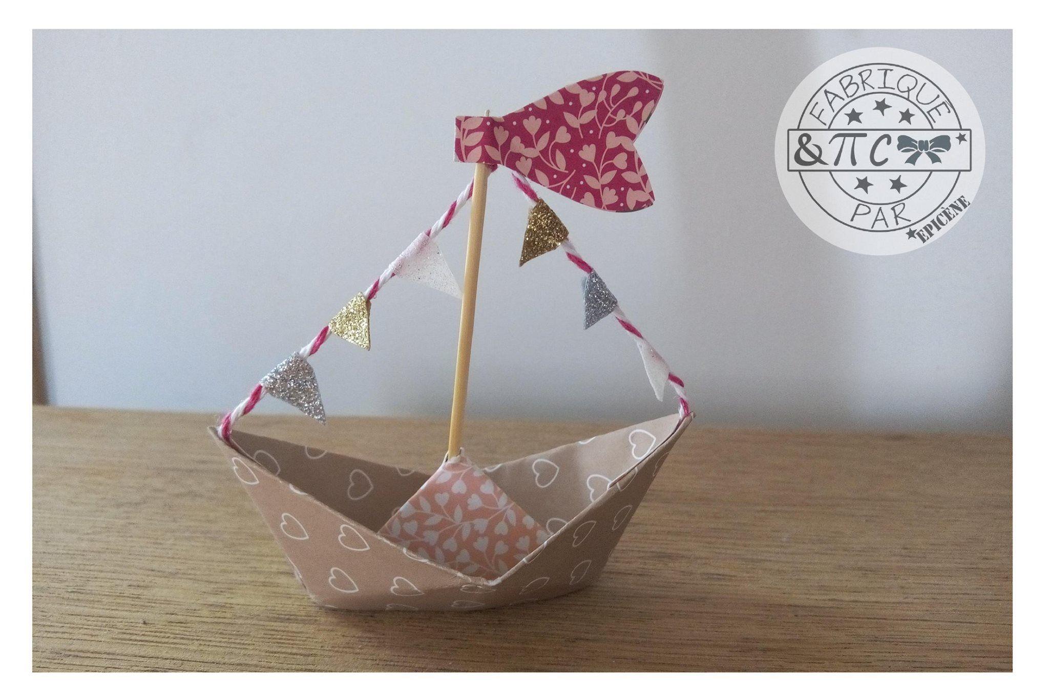 Joli petit bateau reproduis grâce à notre Créative numéro
