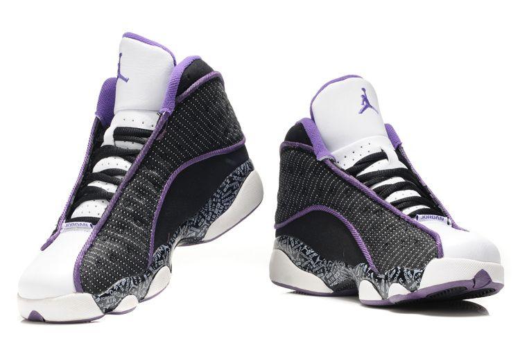 black and purple jordan shoes woman