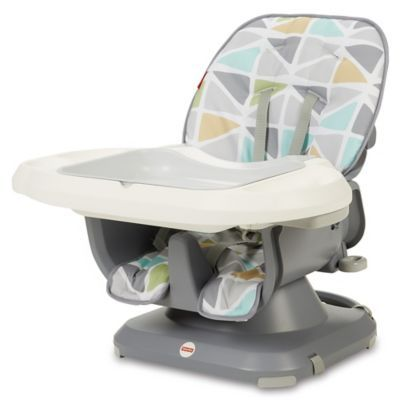 Target Space Saver High Chair Used Computer Chairs Fisher Price Deluxe Spacesaver Sail In Grey Yellow
