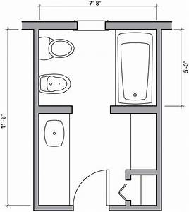 Small Full Bathroom Layout In 2020 Bathroom Floor Plans Best