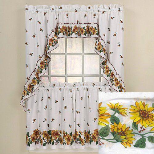 Bestclothing365 Com Kitchen Curtains Curtains Sunflower Kitchen