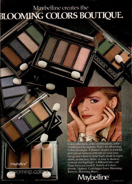 Seventeen Magazine – 1980  Maybelline ad
