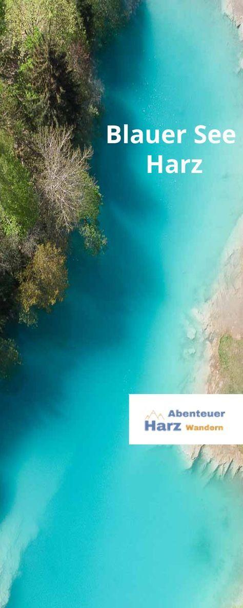 | Blauer See Harz | vom Geheimtipp zum Ausflugsziel für Familien ***