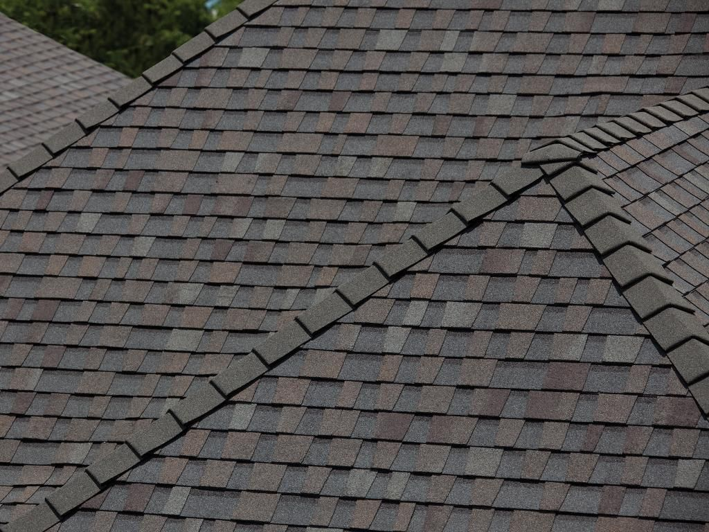 Shasta HD Ridge in Shore Wood Installation Gallery – How To Install Roof Cap Shingles