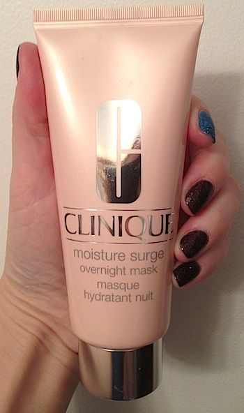 Review Ingredients Cosmetic Chemist Assessment Clinique Moisture Surge Overnight Mask How It Works Beautystat Com Clinique Moisturizer Clinique Moisture Surge Overnight Mask