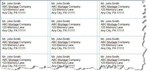 How to Setup Address Labels in Microsoft Word Microsoft word