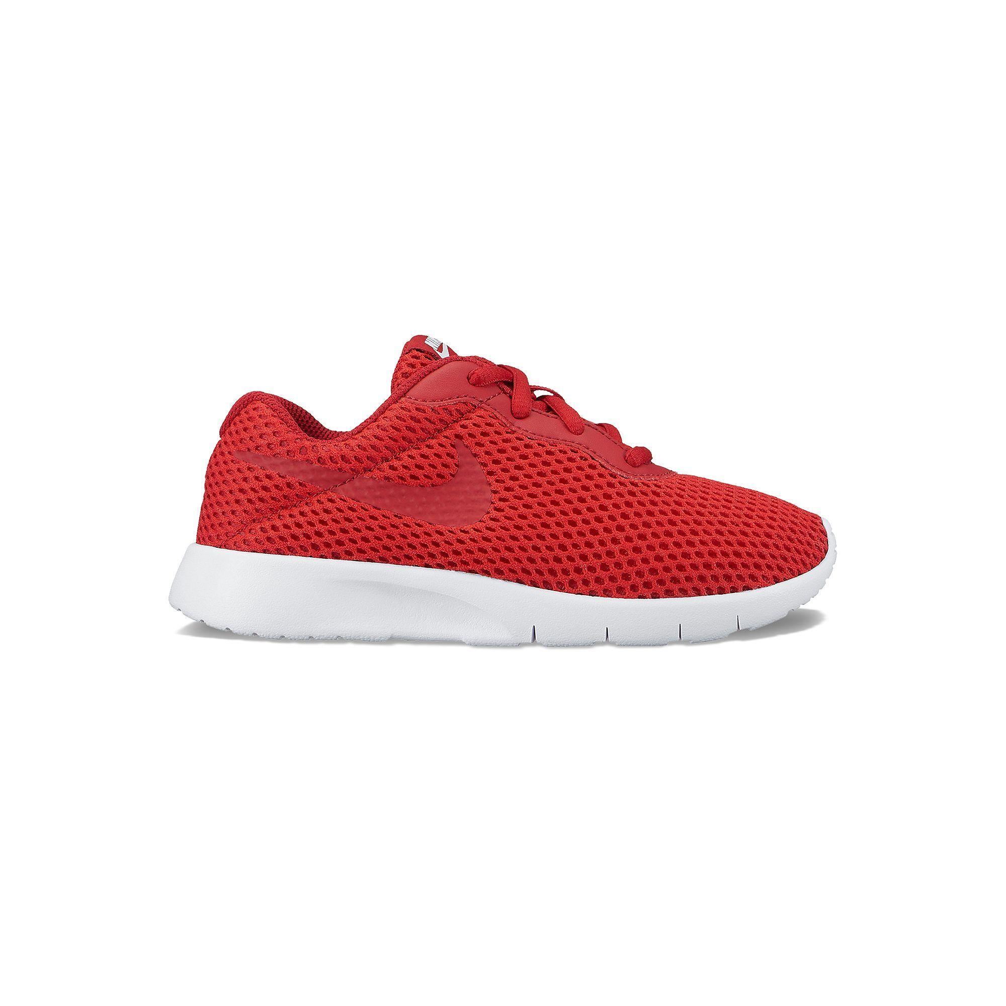 Nike Tanjun Breathe Preschool Boys' Sneakers, Boy's, Size: 13, Red,
